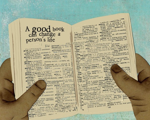 a good book can change a person's life etsy
